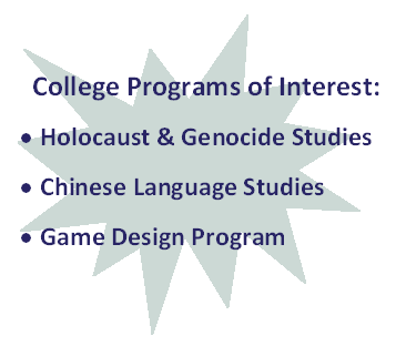 College Programs of Interest