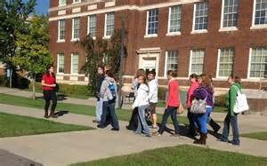 guided campus tour