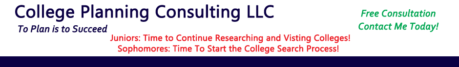 College Planning Consulting Header